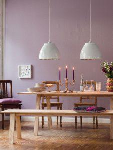 Referenzen von Oskar Seus rosa strukturierte Wand